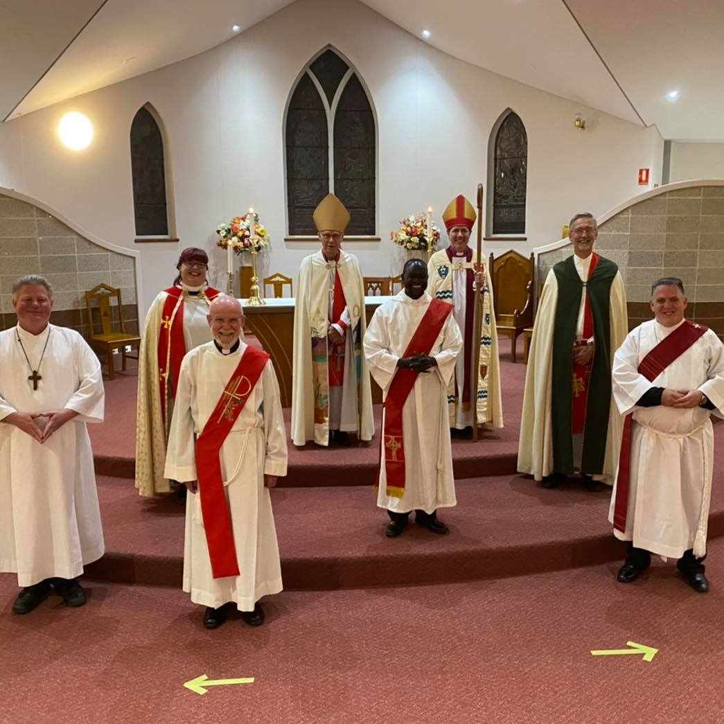 Ordination of the Reverend David Brown and the Reverend Aaron Coates at St Mary's Ballina.